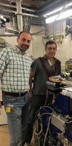 פרופ' ג'וזפה פליני מאוניברסיטת בולוניה (מימין) ופרופ' בעז פוקרוי מהטכניון
