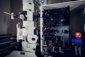 המיקרוסקופ הקוונטי בטכניון קרדיט צילום: ניצן זוהר, דוברות הטכניון