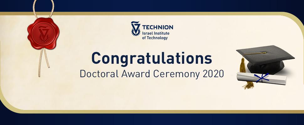 Doctoral Award Ceremony 2020