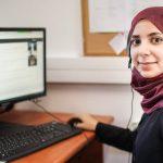 Ph.D. student Tasneem Biadsy
