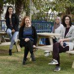 Group photo(L-R) : Kinneret Rozales, Shani Hadar, Amal Younis, Prof. Reut Shalgi, Tahani Kadah, Flonia Levy-Adam and Anatoly Meller