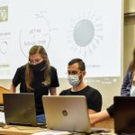 The Technion iGEM 2020 team in action.