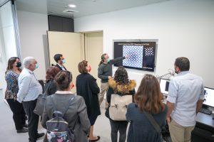 """סיור במרכז למיקרוסקופיית אלקטרונים (מיק""""א( ובת'מיס - מיקרוסקופ אלקטרונים חודר"""