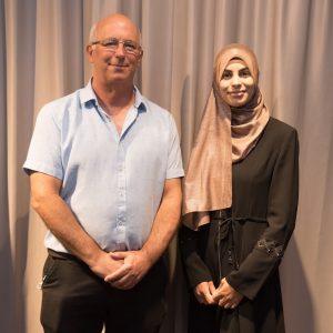 """לינה מדלג' עם פרופ' דן גייגר, דיקן הפקולטה למדעי המחשב ע""""ש טאוב"""