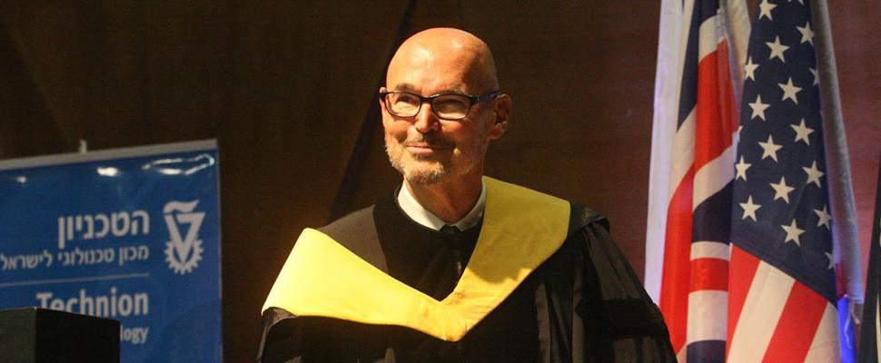 Technion Honors Stephen Grand