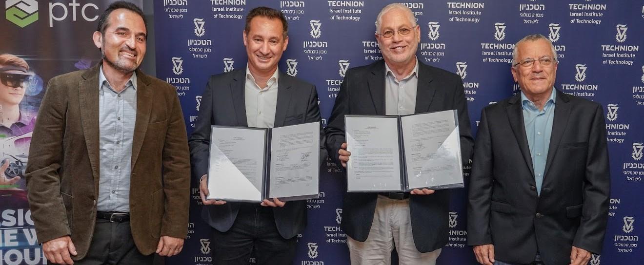 Software Giant PTC Establishes $5M R&D Center at the Technion
