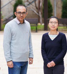 """ד""""ר ראמז דניאל (משמאל) וד""""ר לי שימינג"""