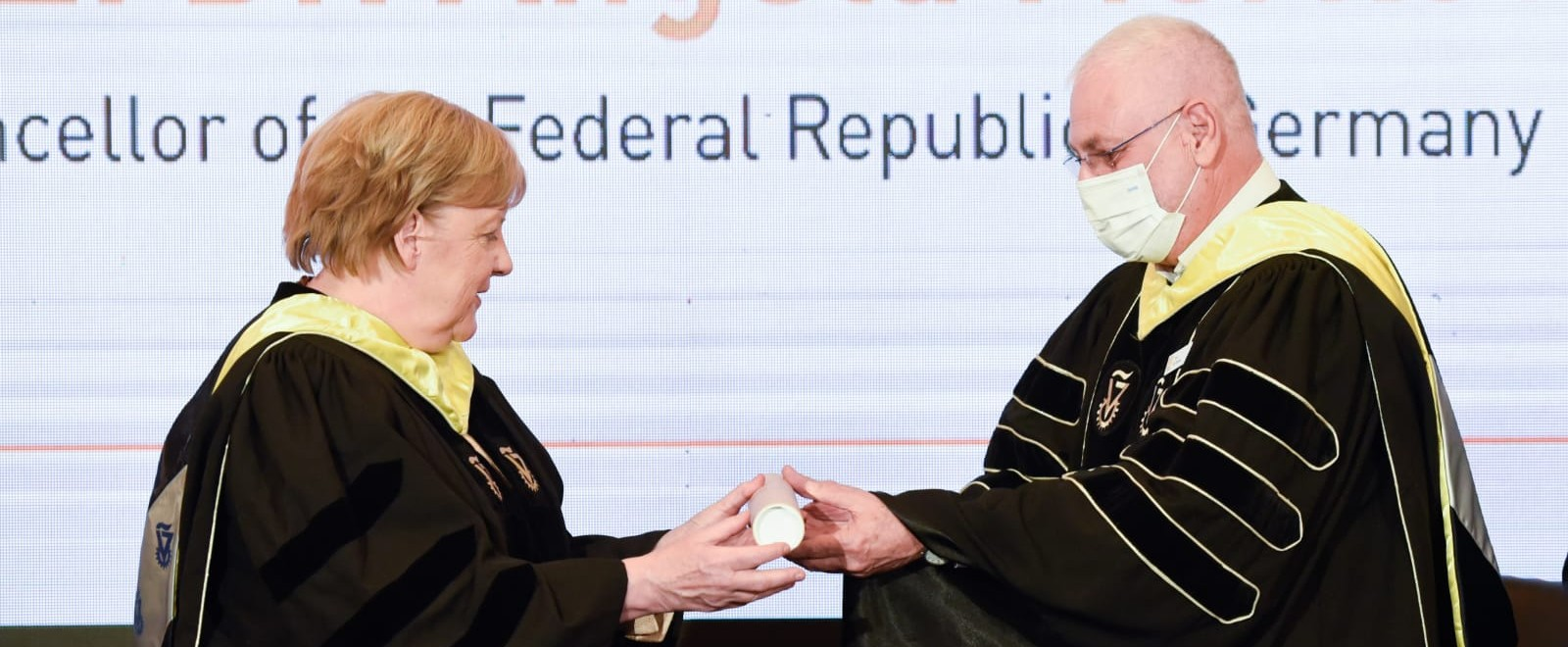 Merkel Receives Honorary Doctorate from the Technion