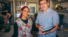 Professor Shai Shen-Orr (right) and Dr. Ayelet Alpert